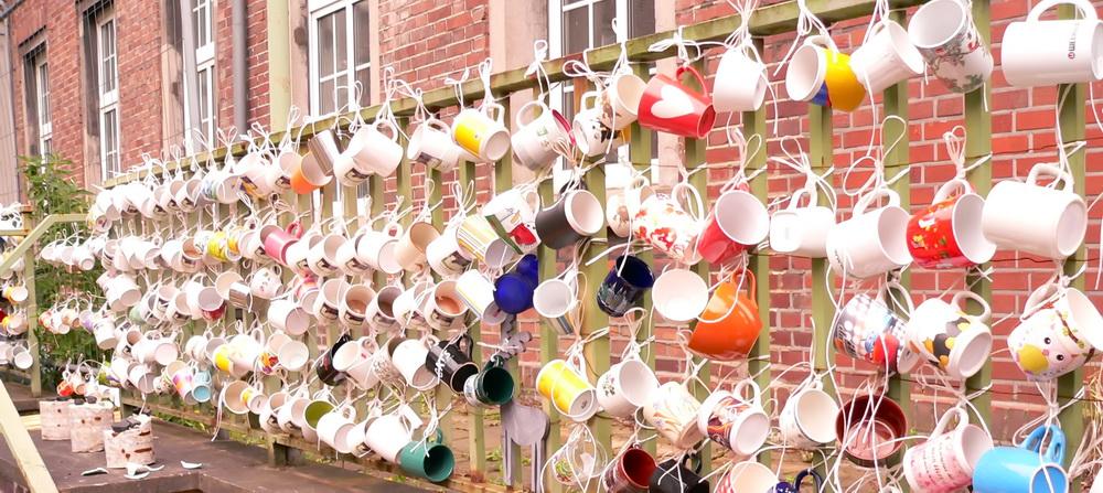 Noch alle Tassen am Zaun (11)