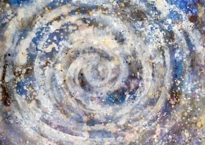 2021-05 Kosmischer Nebel in Spiralform
